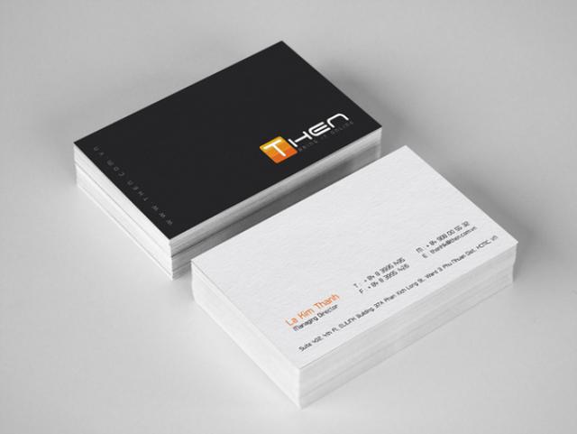 Digital Business Card Business Cards line Urgent
