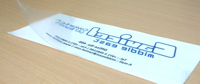 Clear labels and pvc sticker printing